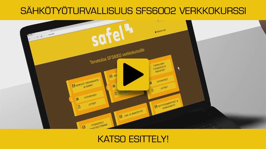 Sähköturvallisuus SFS 6002